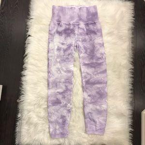 Free People Pants - Free People Tie Dye Leggings M/L - with flaws